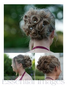 Bridesmaids Hairstyle by Amber-Lea