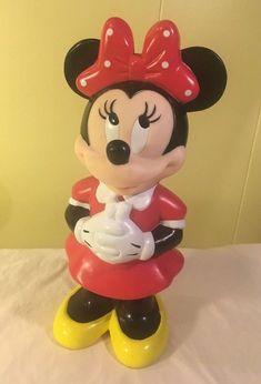 "Minnie Mouse Disney Big Sipper  Drinking Bottle 10"" MFG Monogram Product #Disney"