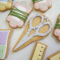 いいね!151件、コメント12件 ― @tottocakeのInstagramアカウント: 「ハサミ  #sugarcookies #icingcookies #decoratedcookie #customcookies #アイシングクッキー #曲奇」