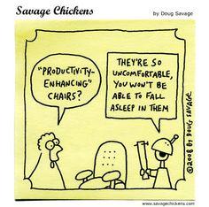 We'll probably just stick with coffee. | Read Savage Chickens #comics @ http://www.gocomics.com/savage-chickens/2015/06/11?utm_source=pinterest&utm_medium=socialmarketing&utm_campaign=social-pin | #GoComics #webcomic #productivity #coffee