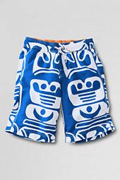 Lands End kids Surf Camp Board Shorts.  Love this West Coast totem pole print!