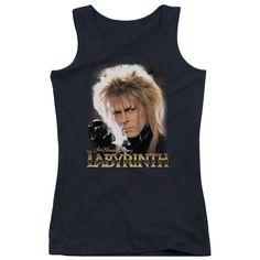Labyrinth - Jareth Junior Tank Top