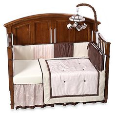 Lambs & Ivy® Madison Avenue 4-Piece Crib Bedding. $169.99