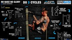 Street workout cycles