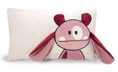 Nici 35172 - Kissen Monster, Uih rechteckig 43 x 25 cm, rosa: Amazon.de: Spielzeug