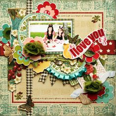 I love you - Scrapbook.com sweet as cherry pie websters