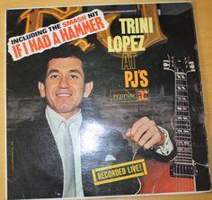 TRINI LOPEZ AT PJS 12  VINYL