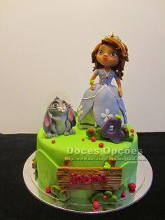 Doces Opções: Bolo de aniversário com a Princesa Sofia