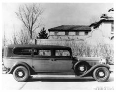 1932 Lincoln Eureka Funeral Limousine