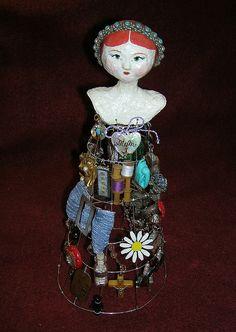 Soldered Art Doll