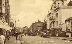 Grand Theatre, 125 High Street Croydon Surrey England in 1957 Funny Vintage Ads, Vintage Humor, Croydon, Old London, Surrey, Old Town, Old Photos, Nostalgia, Old Things