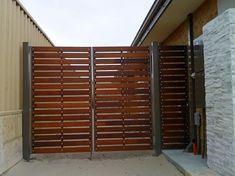 modern wooden gates - Google Search