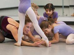 Premiers cours de danse :)