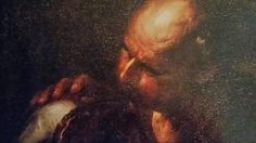 CERCHIA DI GIACOMO RECCO. FIGURA MASCHILE. olio su tela. 56 × 68 cm. Finarte, Milano. Dipinti Antichi. Asta 1138. 16 / 05 / 2001. Estimate : 20.000 - 22.500  €.
