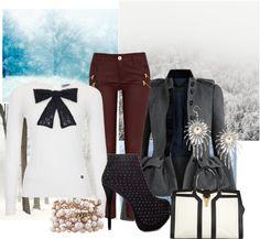 """winter wonderland"" by vanessashark on Polyvore"