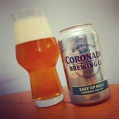 Coronado Easy Up Pale  #craftbeer #craftbier #kiel #coronado #kalifornien #usa #california #paleale #beerporn #instabeer #beerstagram #beer #bier #birra #cervesa #cerveja #cerveza #øl #craftbeerlife #craftbeerkiel #craftbeerporn #beerpics #beertography #cheers #prost #staycoastal
