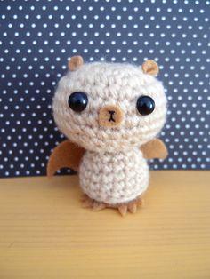 Crochet Amigurumi Bat (Brown)