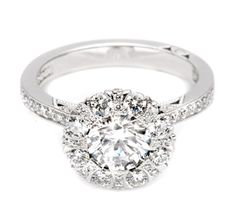 Engagement ring by Tacori Style#:2642RD65