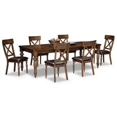 Alcove Aqua Dining Room Collection  American Signature Furniture Stunning Value City Dining Room Sets Design Ideas