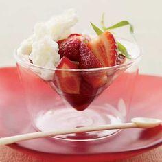 Strawberries with Bu