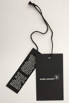 Etoile hangtag Isabel Marant