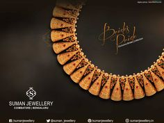 Shop from our enticing range of today! Necklace at Suman jewellery are your next wardrobe essential. Gold Jewellery Design, Gold Jewelry, Jewelery, Gold Necklace, Diamond Jewellery, India Jewelry, Temple Jewellery, Bali, Gold Set