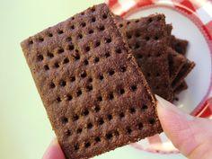 Grain Free Chocolate Graham Crackers