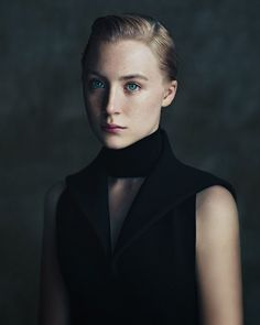 Saoirse Ronan by Paolo Roversi for The NY Times T Style Luxury Magazine, Winter 2013