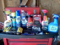 Save money by buying products on sale, then detailing your car yourself.