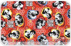 #Star #Trek - #Crew Red Yardage - #Camelot Design Studio - Camelot Cottons