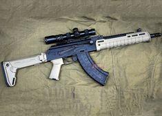 Custom Magpul ZHUKOV Mid-Length AK GBB