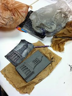 the pARTicular art teacher: Architecture Tiles Clay Art Projects, Sculpture Projects, Ceramics Projects, Middle School Art Projects, Art School, Secondary School Art, Intro To Art, High School Ceramics, Sculpture Lessons