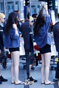 krystal's airport fashion