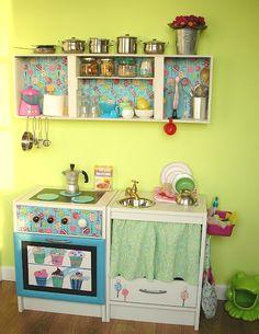 Quiero una cocinita como esta!
