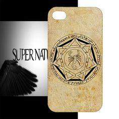 New Supernatural Horror Sam Dean Demon Devil's Trap Custom iPhone 4 4S Case | eBay
