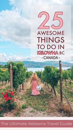 25 Awesome Things to do in Kelowna : The Ultimate Kelowna Travel Guide. From wineries to lakeside activities, outdoor adventures and hikes galore. This post has 25 amazing things you need to see and do when visiting Kelowna, British Columbia in Canada. Things To Do In Kelowna, Canada Winter, Winter Snow, Canadian Travel, Adventure Activities, Travel Activities, Travel Guides, Travel Tips, Usa Travel