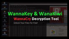 S-a lansarea tool-ul gratuit (WannaKey si WanaKiwi) pentru decriptarea fisierelor criptate cu WannaCrypt...
