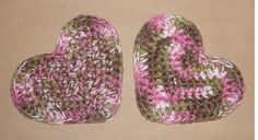 PINK CAMO HEARTS Military Camouflage by CraftCreationsEtsy on Etsy, $7.50