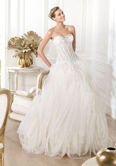 PRONOVIAS Lexas Wedding Dress - The Knot
