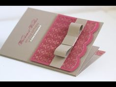 ▶ TCIF Stampin Up Centre Spinner Card - YouTube