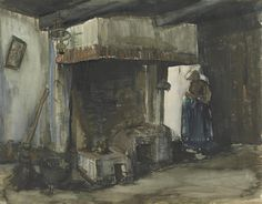 Woman by a Hearth, 1885, Vincent van Gogh, Van Gogh Museum, Amsterdam (Vincent van Gogh Foundation)
