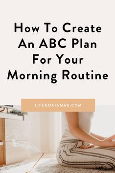 Do you have a backup plan for your morning routine? Or is it all-or-nothing mode for you? If you've bought into the idea that you need to complete a morning routine in its entirety, or else you'll just roll out of bed and go straight into the day, you're missing out on what could still be a mindful morning. What if you could intentionally set up a plan, so that no matter what amount of time you have in the morning, you can still kickstart your morning feeling fresher, more put together and ready Habits Of Successful People, Throw In The Towel, Morning Habits, Make A Plan, Morning Ritual, Go Getter, All Or Nothing, How To Eat Less, What Happens When You