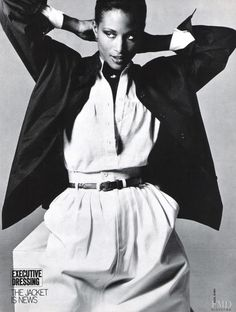 Supermodel and actress Beverly Johnson first made history in August of 1974 when she rose to fame becoming the first African American model to appear on the cover of American Vogue. With a strong followup in 1975, being the first Black woman to appear on the cover of the French edition of Elle, ...