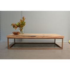 Recycled Timber Coffee Table | Chestnut Timber