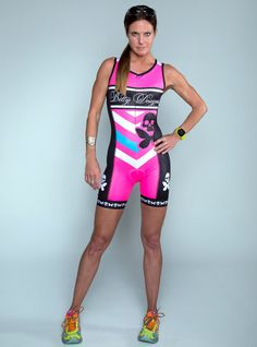 Betty Designs tri suit --- I have LOVED racing in this! Team Betty 2015