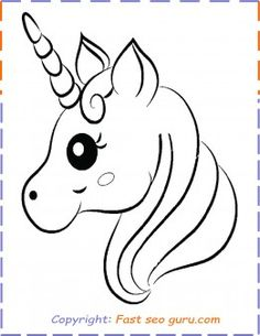 free Printable #unicorn #coloring pages for kids unicorn #party supplies. #printable unicorn birthday invitations. #unicorn #drawing easy Free Kids Coloring Pages, Unicorn Coloring Pages, Cat Coloring Page, Free Printable Coloring Pages, Unicorn Painting, Unicorn Drawing, Art Drawings For Kids, Easy Drawings, Craft Font