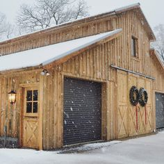 Exterior Barn Door Hangers & Tracks | Pinterest | Exterior barn ...