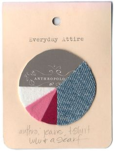 pie chart journaling. awesome idea for a shopping-day scrapbook page :-)