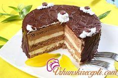 Recepti za kolače i torte: Boem torta Torte Recepti, Kolaci I Torte, Baking Recipes, Cookie Recipes, Dessert Recipes, Jednostavne Torte, Torta Recipe, Croatian Recipes, Cake Business