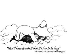 For Your Daily Dose of Words of Wisdom and Humor à la Moomin Valley. Moomin Tattoo, Moomin Valley, Tove Jansson, Little My, Art Reference, Cool Art, Illustration Art, Artsy, Creatures